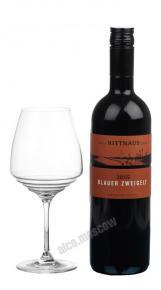 Blauer Zweigelt 2015 Австрийское Вино Блауэр Цвайгельт Ниттнаус 2015г