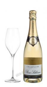 Rene Schloesser Brut Chardonnay Французское Шампанское Рене Шлоссер Брют Шардоне