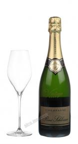 Rene Schloesser Brut Millesime Vintage 2007 Французское Шампанское Рене Шлоссер Брют Миллезим Винтаж 2007г
