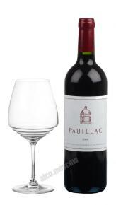 Pauillac de Chateau Latour AOC 2008 Французское вино Пойак де Шато Латур АОС 2008г