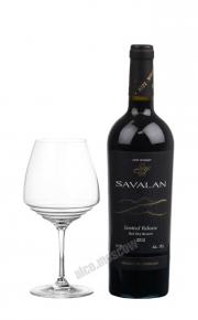 Savalan Limited Release Red Dry Reserve 2012 Азербайджанское вино Савалан Лимитед Релиз Резерв 2012г