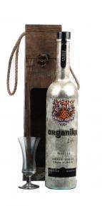 Organika Life 0.7l Gift Box водка Органика Лайф 0.7 л. в п/у