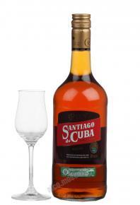 Santiago de Cuba Anejo Ром Сантьяго де Куба Аньехо выд. 7 лет