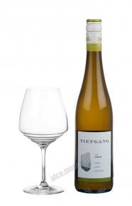 Tiefgang Riesling Kalkstein 2015 Немецкое вино Тиефганг Рислинг Калкштейн 2015г