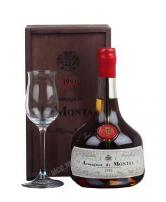 De Montal 1996 арманьяк Баз-Арманьяк де Монталь 1996 в д/у