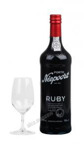 Niepoort Ruby 0,75 Портвейн Нипорт Руби 0,75