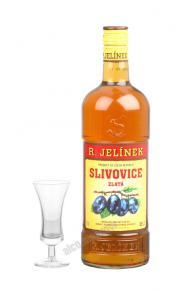 R.Jelinek Slivovice Zlata Спиртной напиток Сливовица Золотая