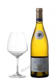 Chablis Grand Cru Blanchot Millesime 2001 Французское вино Шабли Гран Крю Бланшо АОС 2001