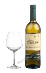 Российское вино Крымское Наследие Шардоне-Алиготе
