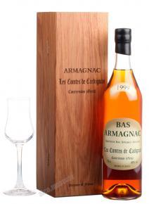 Les Comtes de Cadignan 1999 0.7l Wooden Box арманьяк Ле Комт де Кадиньян 1999 0.7 л. в дер./уп.