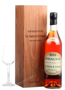 Les Comtes de Cadignan 1968 0.7l Wooden Box арманьяк Ле Комт де Кадиньян 1968 0.7 л. в дер./уп.