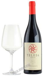 Teleda Saperavi грузинское вино Теледа Саперави