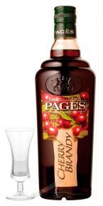 Ликер Pages Cherry Brandy Ликер Пажес Шерри Бренди