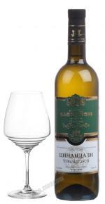 Bagrationi Tsinandali Грузинское вино Багратиони Цинандали