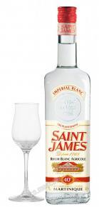 Saint James Rhum Agricole Blanc 0.7l ром Сент Джеймс Агриколь Блан 0.7 л.