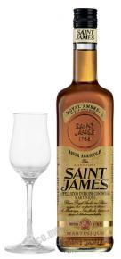 Saint James Rhum Agricole Royal Ambre 0.7l ром Сент Джеймс Агриколь Роял Амбрэ 0.7 л.