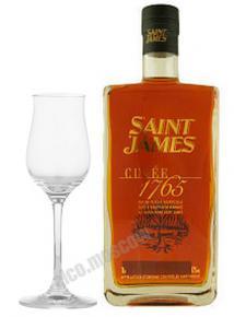 Saint James Rhum Vieux Agricole 1765 0.7l ром Сент Джеймс Вьё Агриколь Кюве 1765 0.7 л.