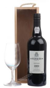 Andresen Vintage 2002 портвейн Андресен Винтейдж 2002г