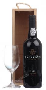 Andresen Vintage 2003 портвейн Андресен Винтейдж 2003г