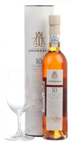 Andresen White 10 years портвейн Андресен Уайт 10 лет