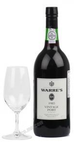 Warres Vintage 1985 Портвейн Уоррс Винтаж 1985
