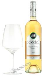 Carmel Selected Emerald Riesling израильское вино Кармель Селектед Эмералд Рислинг