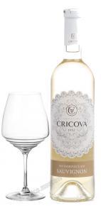 Cricova Sauvignon Lace Range Молдавское вино Совиньон Крикова серия Lace Range