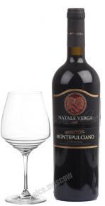 Natale Verga Montepulciano d`Abruzzo Итальянское вино Натале Верга Монтепульчано Д`Абруццо