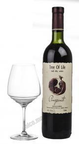 Армянское вино фруктовое Дерево жизни Гранат