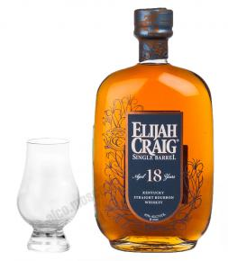 Elijah Craig single Barrel 18 years Элайджа Крейг Сингл Баррел 18 лет