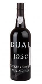Cossart Gordon Bual 1958 мадера Коссарт Гордон 1958 года
