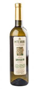 Mtevani Tsinandali грузинское вино Мтевани Цинандали