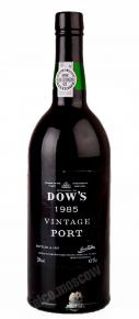 Dows Vintage 1985 Портвейн Доуз Винтаж 1985г.