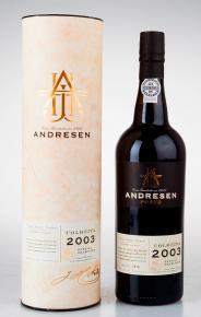 Andresen Colheita 2003 португальский портвейн Андресен Колейта 2003 в тубе