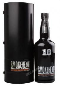Whisky Smokehead Extra Black 18 years Виски Смоукхэд Экстра Блэк 18 лет