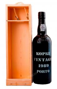 Kopke Vintage 1989 портвейн Копке Винтаж 1989