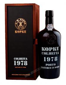 Porto Kopke Colheita 1978 портвейн Копке Колейта 1978
