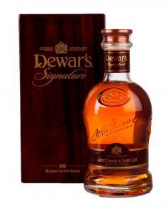 Dewars Signature 21 years old 0,75l Виски Дюарс Сигначер 21 год 0,75л в д/уп
