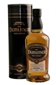 Dubliner 10 Years Old Single Malt 0.7l in tube виски Даблинер 10 лет Сингл Молт 0.7 л. в тубе