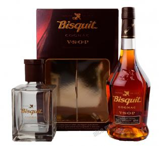 Bisquit VSOP Decanter  Коньяк Бисквит В.С.О.П. с декантером