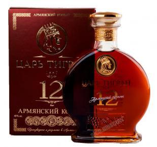 Коньяк армянский Царь Тигран 12 лет выдержки