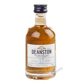 Deanston 12 years old виски Динстон 12 лет 0.05 л