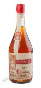 Lemorton Vintage 1980 Кальвадос Лемортон Винтаж 1980г