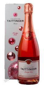 Taittinger Prestige Rose Brut шампанское Тэтэнжэ Престиж Розе Брют