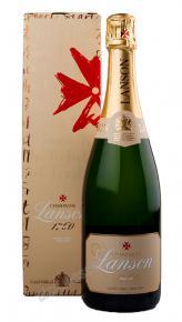 Lanson Ivory Label Demi-Sec шампанское Лансон Айвори Лейбл Деми-Сек в п/у