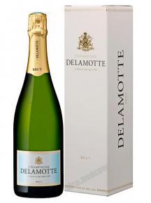 Delamotte Brut 0,75l Шампанское Деламотт Брют 0,75л в п/у