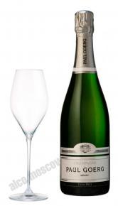 Paul Goerg Brut Blanc de Blancs Premier Cru шампанское Поль Гоэрг Брют Блан де Блан Премьер Крю