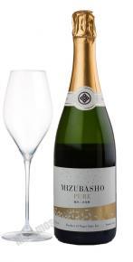 Алкогольный напиток Мидзубасе Пюа игристое сакэ Mizubasho Pure
