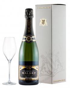 Malard Brut Blanc de Noir шампанское Малар Брют Блан де Нуар