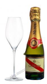 Mumm Cordon Rouge шампанское Мумм Кордон Руж 0.2л